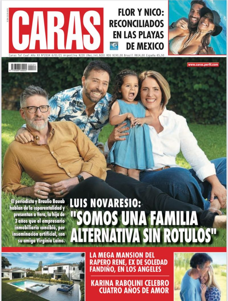 """Luis Novaresio: """"Somos una familia alternativa sin rótulos"""""""