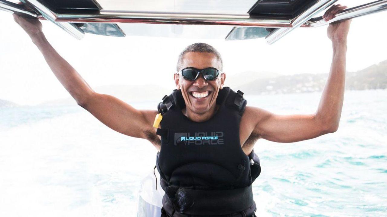 Obama, fanático de los deportes acuáticos | Foto:CEDOC