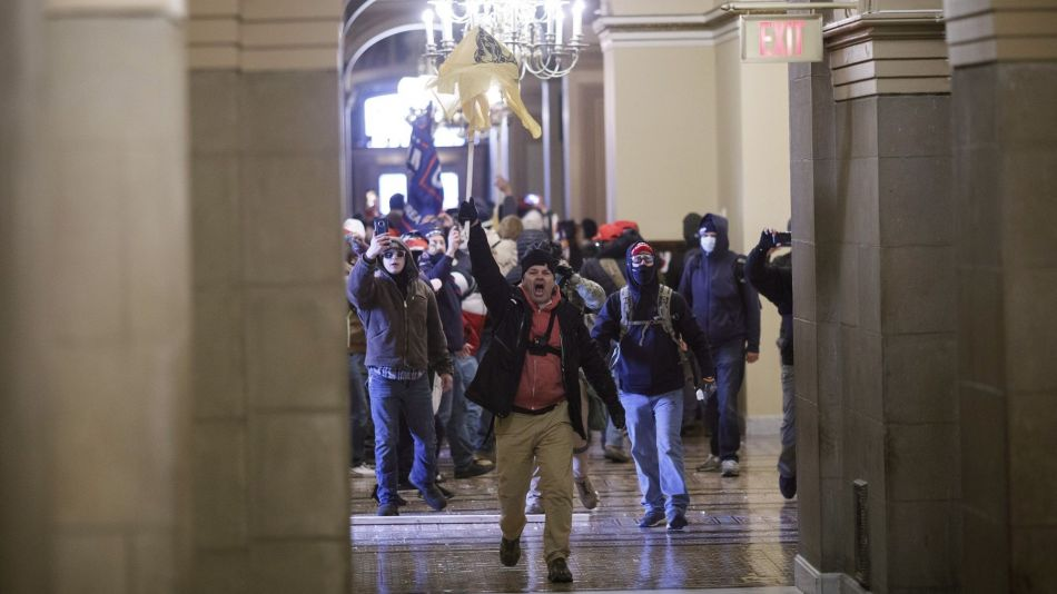 Protests As Joint Session Of Congress Confirms Presidential Election Result