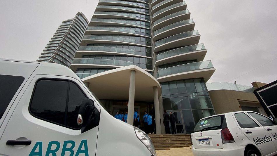 edificio en Mar del Plata que evadía pagar impuestos 20210106