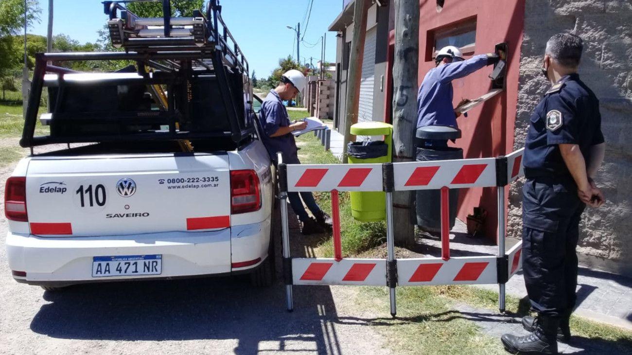 Edelap encabezó los operativos de control en la zona sur de La Plata.