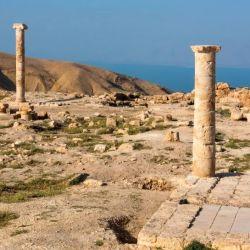 Hasta ahora, los arqueólogos no habían logrado identificar el nicho como parte del trono de Herodes Antipas. S