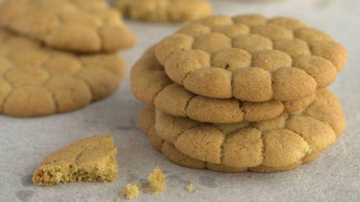 Tres recetas de galletitas clásicas