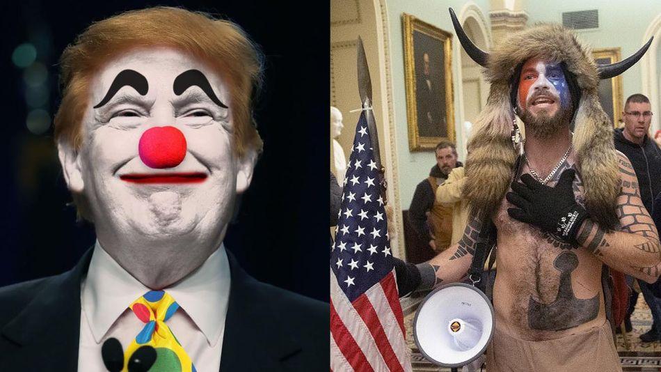 Trump payaso 20210107