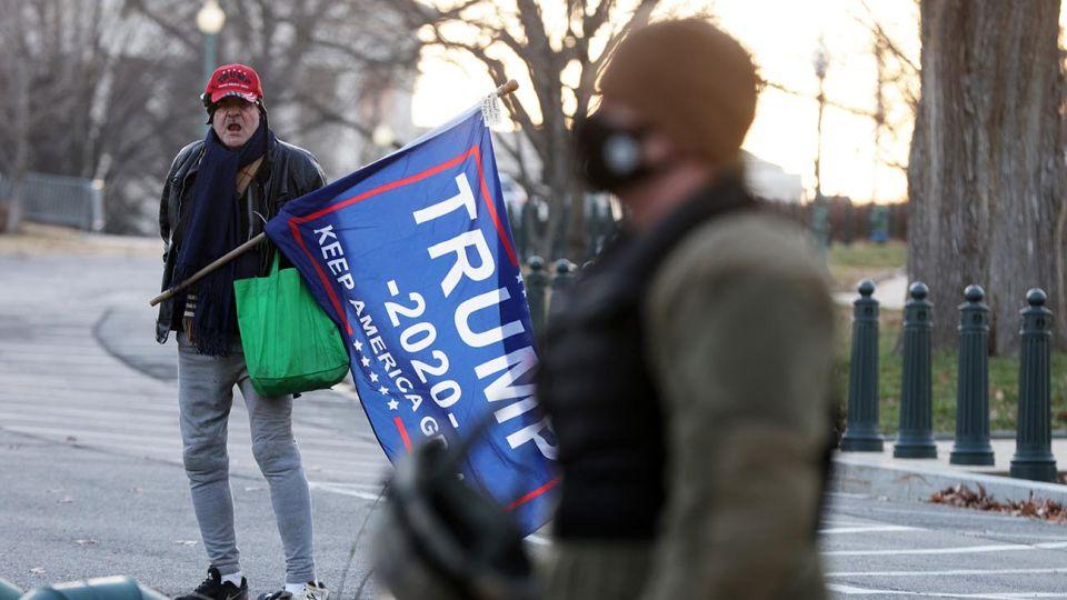 El Partido Republicano dividido por Trump.