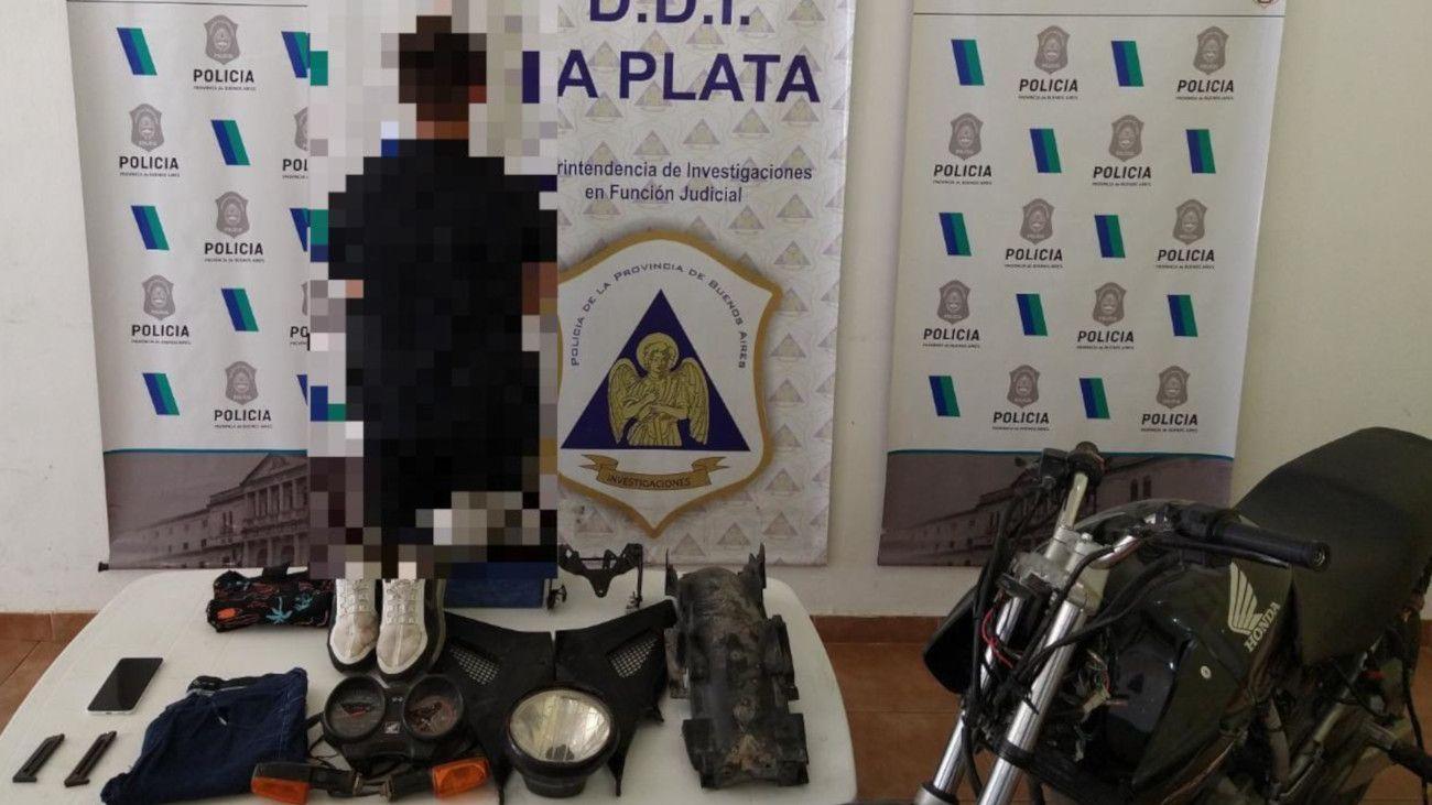 El menor detenido por el caso Piparo.