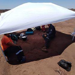 El área donde se produjo el hallazgo fue preservada por las autoridades provinciales.