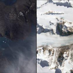 En los últimos 16 años el glaciar Neumayer, en Georgia del Sur, se ha retirado más de 4 kilómetros.