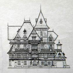 Planos de la Villa Ortiz Basualdo de Mar del Plata.