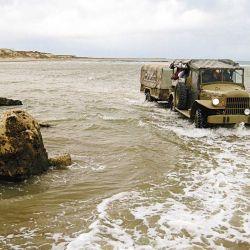 En el Sótano se da la mayor diferencia de mareas del país; para llegar y regresar hay que estudiar los horarios.