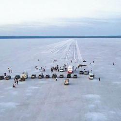 Salina del Gualicho, la Antártida en versión sal y menos fría, pero con similar sensación de inmensidad.
