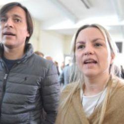 La diputada Carolina Piparo y su marido Juan Ignacio Buzali.   Foto:cedoc