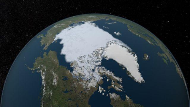 Alarma mundial: imágenes de la NASA muestran la transformación de la tierra por el cambio climático