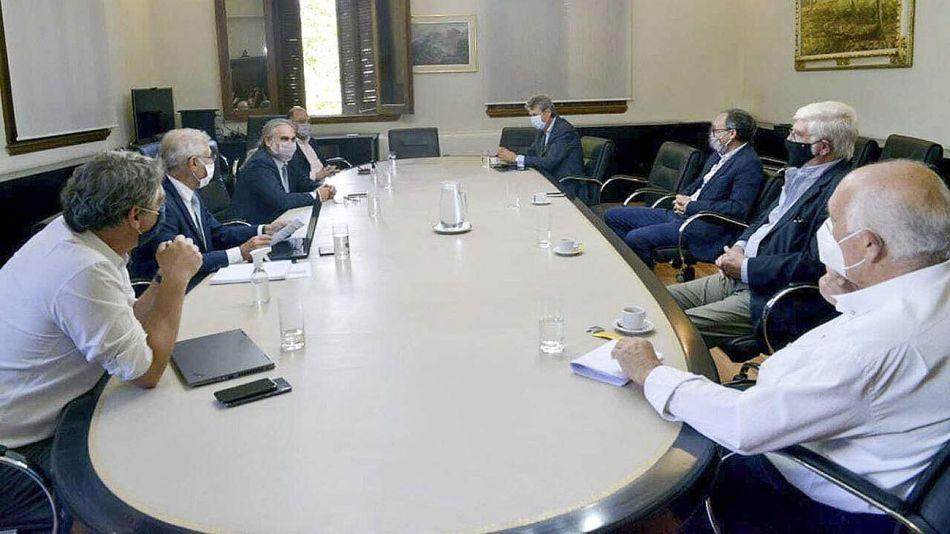 Reunión en el Ministerio de Agricultura 20210108