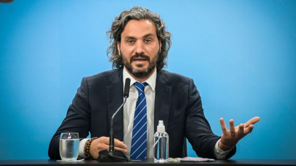 Santiago Cafiero, jefe de Gabinete.