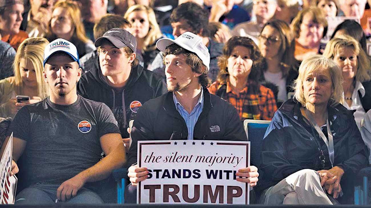 Ignorados. Los blancos de clase trabajadora con Trump.