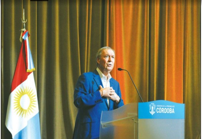 DISTANTE. Schiaretti volvió a diferenciarse de Nación y fue el primero en manifestar su postura.