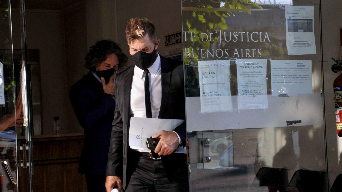 Fernando Burlando, el abogado de Juan Ignacio Buzali, tras la declaración del esposo de Carolina Piparo.