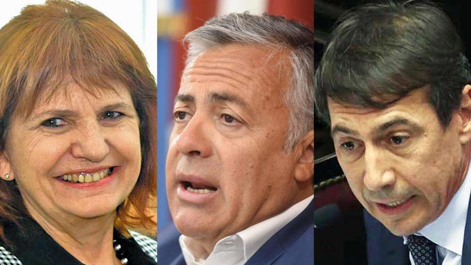 Voces. Patricia Bullrich, Alfredo Cornejo y Luis Naidenoff fueron de los que salieron a repudiar.