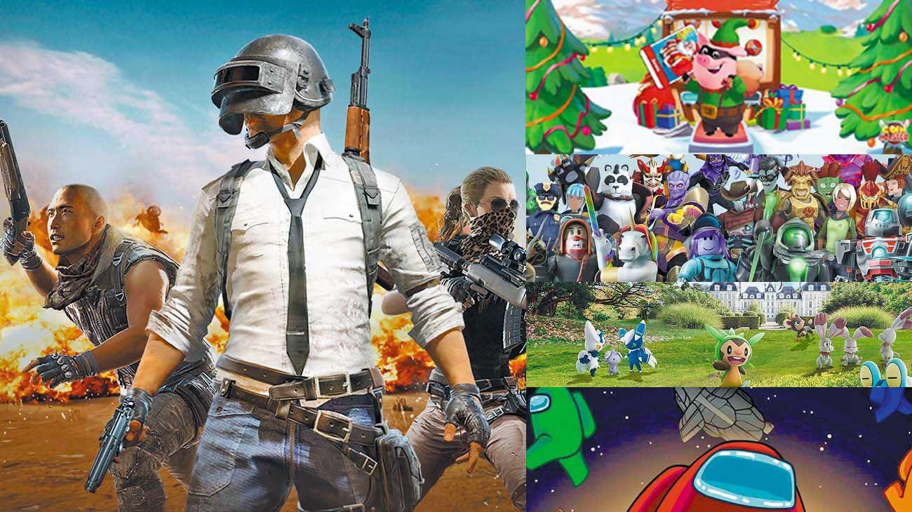 """Exitos. """"Playerunknown's Battlegrounds"""" es el game que más ganancias ha generado en su medio durante el 2020. Otros éxitos: """"Coin Master"""", """"Roblox"""", """"Pokemón Go!"""" y el juego sensación gratuito del año, el famoso y popular multijugador """"Among Us""""."""