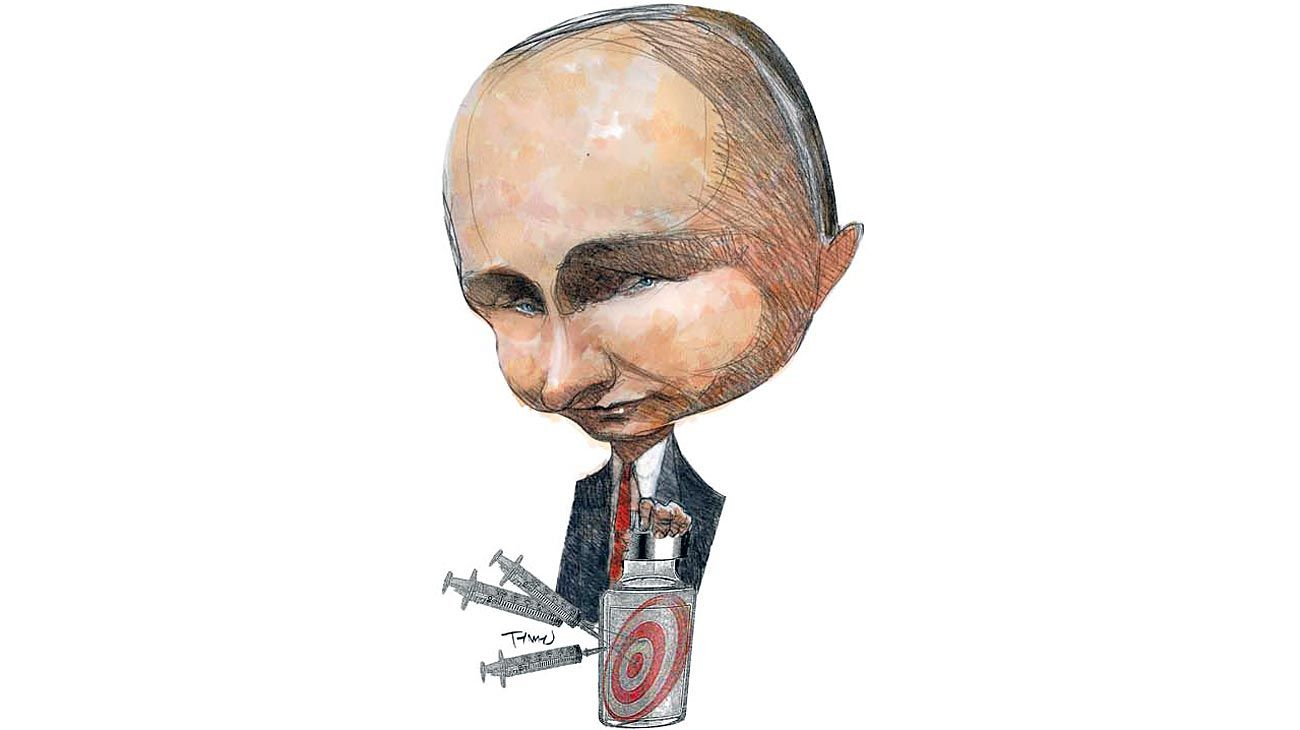 El 'cuco' soviético... Vladimir Putin.