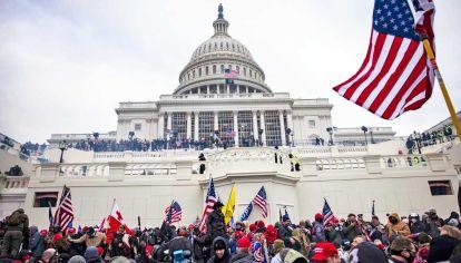 Capitolio. Los signos de cuatro años de fanatismo no alcanzaron para prever lo sucedido.