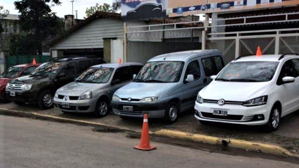 Venta de autos usados.