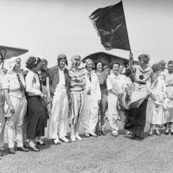 Earhart también fue una gran luchadora de los derechos feministas.