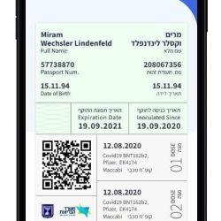 """Isael lanza una prueba piloto de """"pasaporte verde"""" para activar el movimiento de los viajeros."""