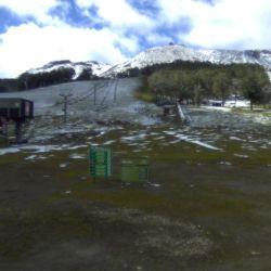 El Cerro Chapelco fue uno de los que mayor cantidad de nieve recibió.