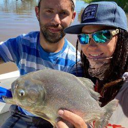 Pesca en Esquina, Corrientes.