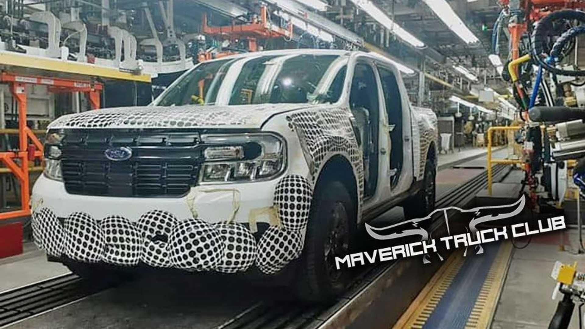 Comienza la producción de la nueva Ford Maverick
