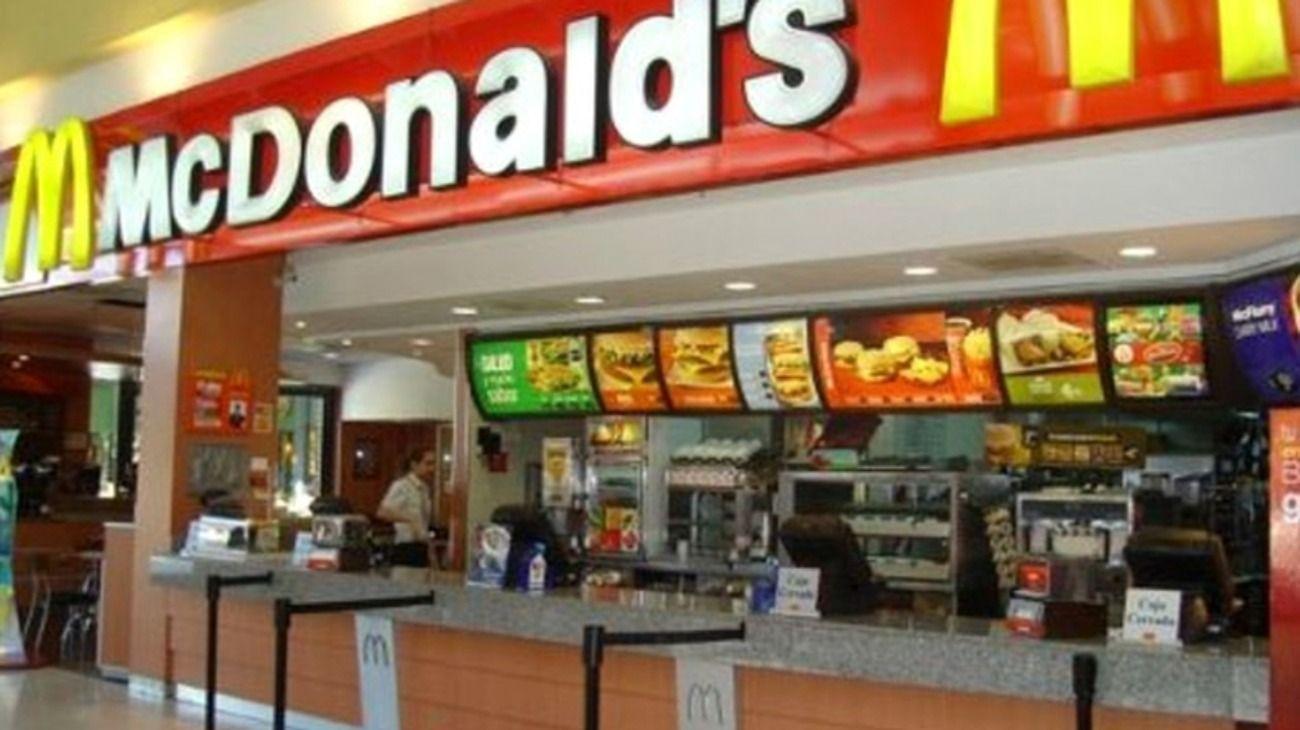 McDonald's con fuertes caídas en sus ventas en 2020.