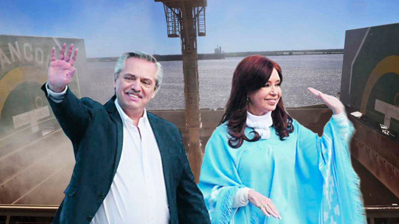 Alberto Fernández y Cristina Kirchner - Campo | Foto:Montaje
