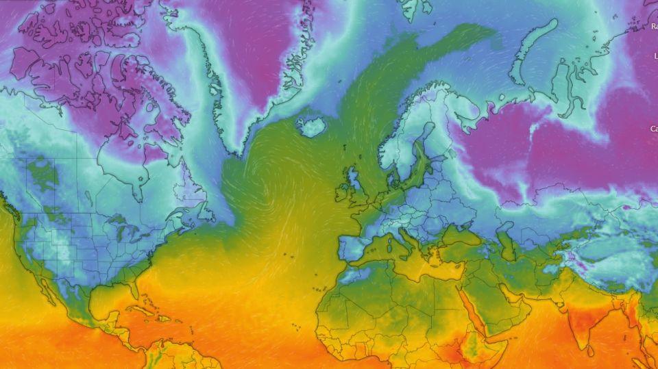 Vórtice polar amenaza con fuertes olas de frío en EEUU y Europa