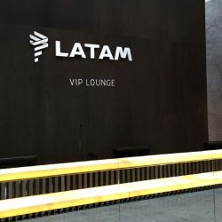 El VIP de LATAM en el Aeropuerto Internacional de Guarulhos, San Pablo, volvió a recibir a los viajeros.
