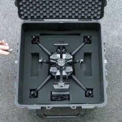 Claramente el Airpeak está pensado para un público sumamente profesional, dedicado a la fotografía o el cine.