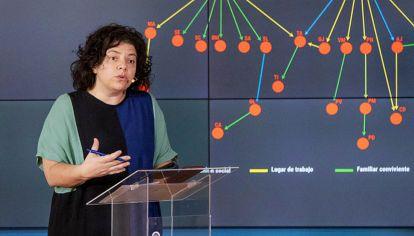 """Carla Vizzotti: """"La gente tiene que saber que irse a un lugar con casos es un riesgo para el país"""""""