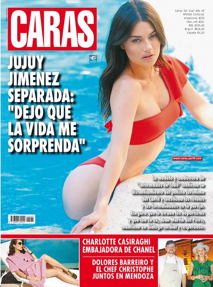 "Jujuy Jiménez separada: ""Dejo que la vida me sorprenda"""