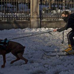 Madrid ha sido una de las ciudades españolas más afectadas por el fenómeno Filomena.
