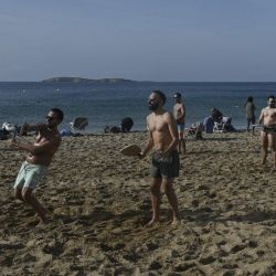 En Grecia se están registrando temperaturas de 23ºC, contra el promedio histórico de 10ºC para el mes de enero.