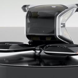 El VTOL de Cadillac tendrá un armazón ultraligero, capacidad para una sola persona y dispondrá de una batería de 90 kWh.