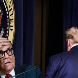 Rudolph Giuliani - Donald Trump | Foto:Montaje