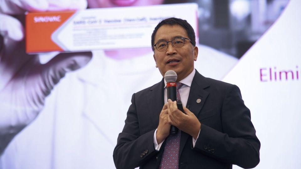 Sinovac Seeks Covid Vaccine Approval Globally, CEO Says