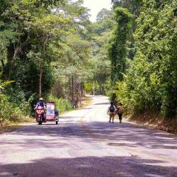 Su travesía se vuelve aun más interesante si se tiene en cuenta que ninguno de los dos había andado en una moto scooter antes del viaje.