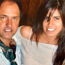 Daniel Scioli y su hija mayor, Lorena | Foto:Captura de Instagram