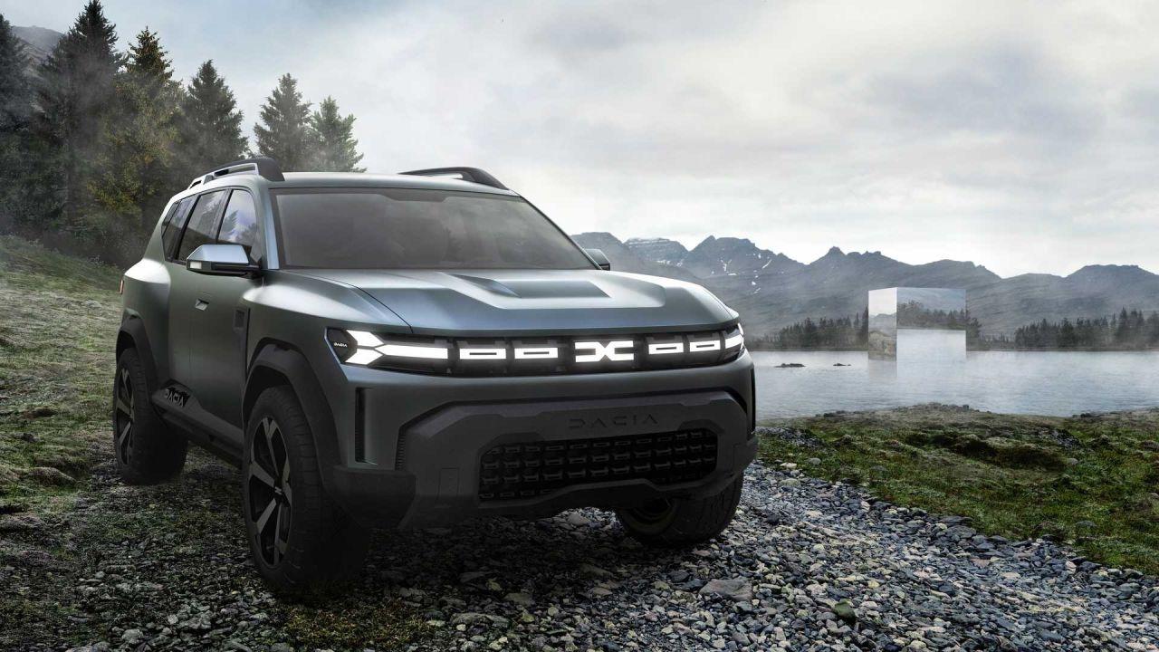 Parabrisas   Bigster: Renault prepara un nuevo SUV mediano
