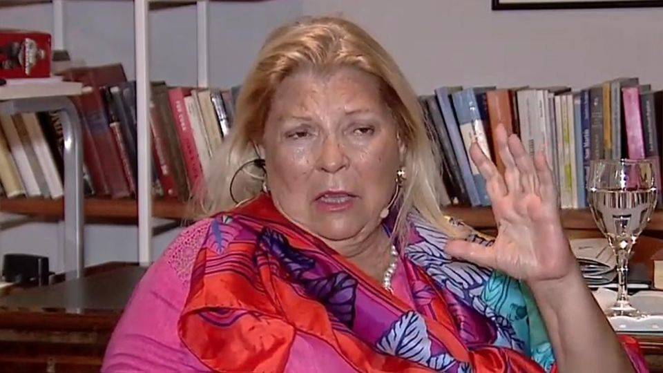 Elisa Carrió.