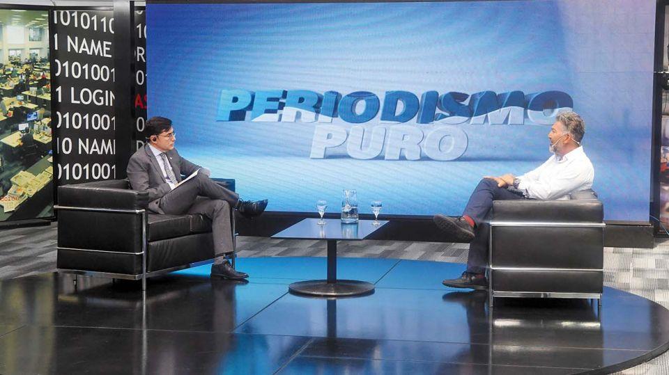 Teddy Karagozian, en la entrevista con Jorge Fontevecchia.