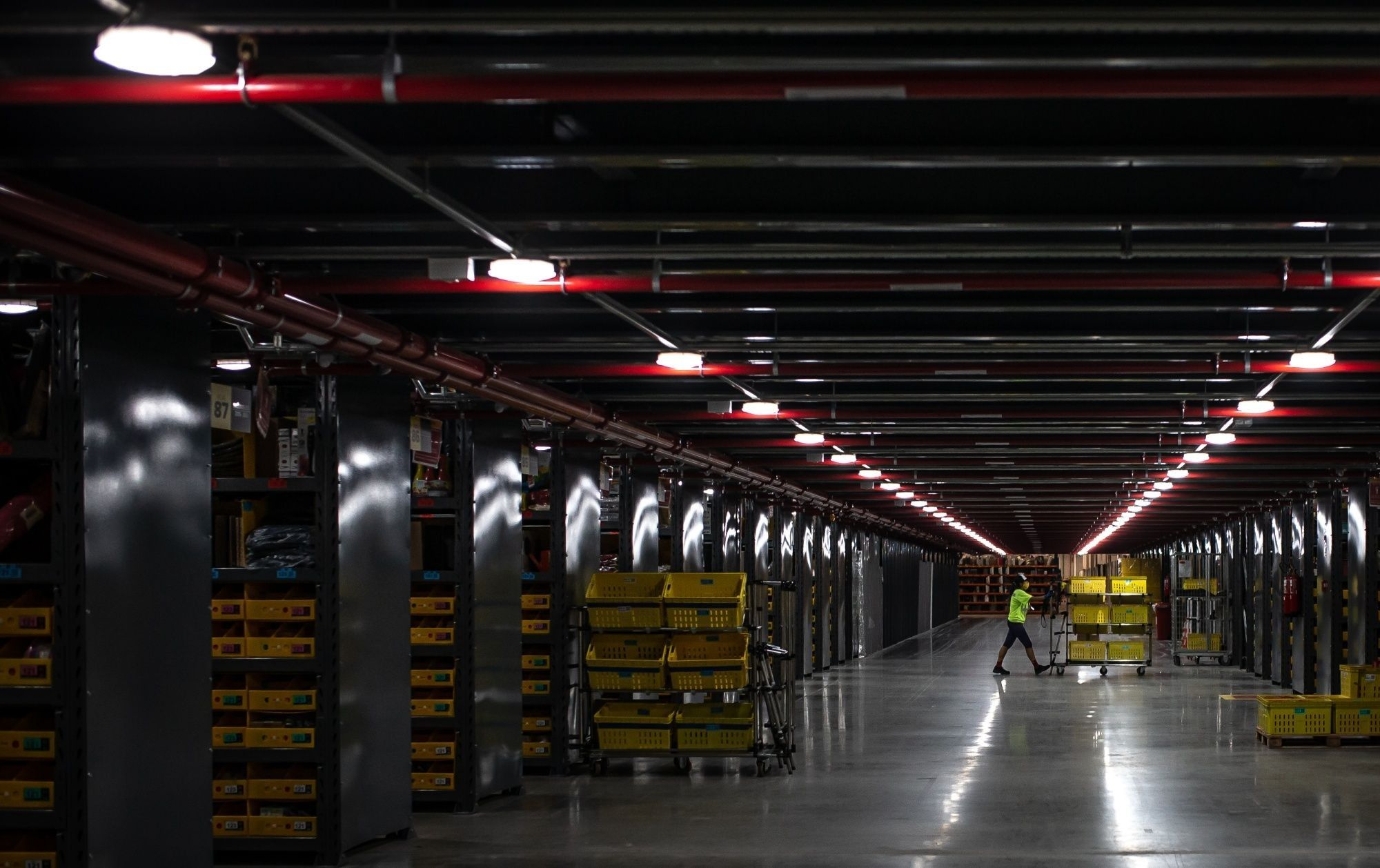 A MercadoLibre Inc. Fulfillment Center On Black Friday